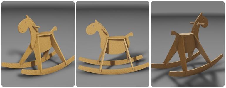 Лошадка качалка своими руками из фанеры